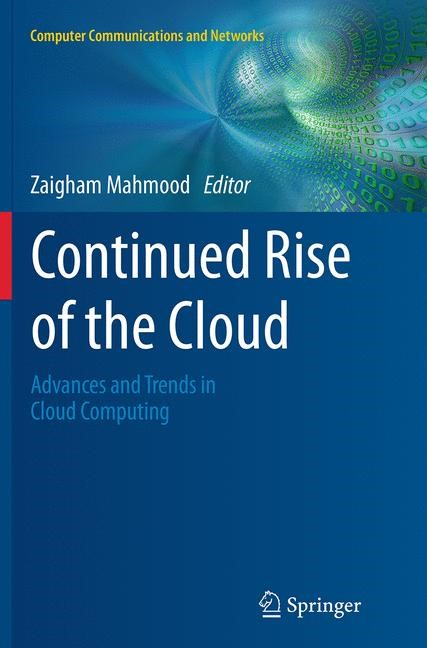Abbildung von Mahmood | Continued Rise of the Cloud | Softcover reprint of the original 1st ed. 2014 | 2016