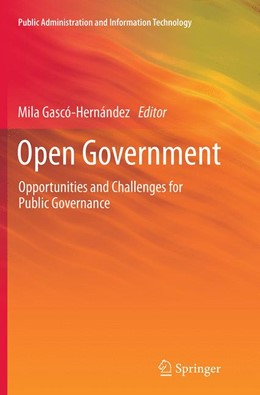 Abbildung von Gascó-Hernández | Open Government | Softcover reprint of the original 1st ed. 2014 | 2016 | Opportunities and Challenges f... | 4