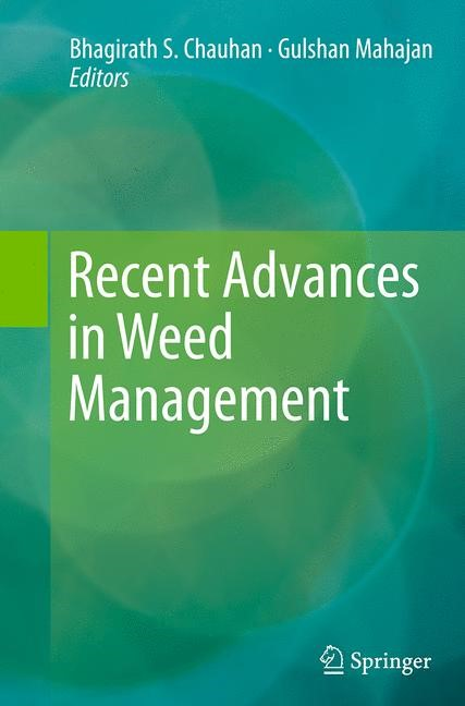 Abbildung von Chauhan / Mahajan | Recent Advances in Weed Management | Softcover reprint of the original 1st ed. 2014 | 2016