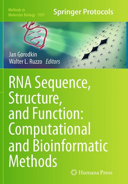 Abbildung von Gorodkin / Ruzzo   RNA Sequence, Structure, and Function: Computational and Bioinformatic Methods   Softcover reprint of the original 1st ed. 2014   2016