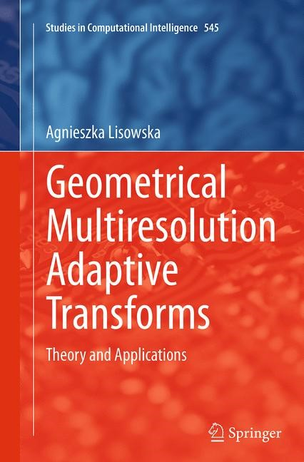 Geometrical Multiresolution Adaptive Transforms | Lisowska | Softcover reprint of the original 1st ed. 2014, 2016 | Buch (Cover)