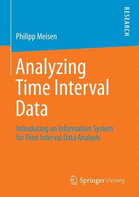 Abbildung von Meisen | Analyzing Time Interval Data | 1st ed. 2016 | 2016