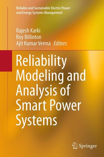 Abbildung von Karki / Billinton / Verma | Reliability Modeling and Analysis of Smart Power Systems | Softcover reprint of the original 1st ed. 2014 | 2016