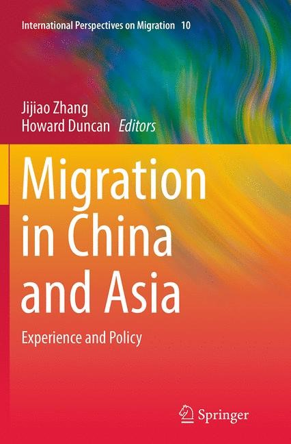 Abbildung von Zhang / Duncan | Migration in China and Asia | Softcover reprint of the original 1st ed. 2014 | 2016