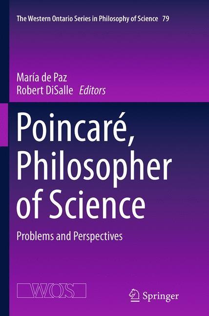 Abbildung von de Paz / DiSalle   Poincaré, Philosopher of Science   Softcover reprint of the original 1st ed. 2014   2016