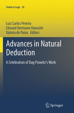 Abbildung von Pereira / Haeusler / de Paiva | Advances in Natural Deduction | Softcover reprint of the original 1st ed. 2014 | 2016