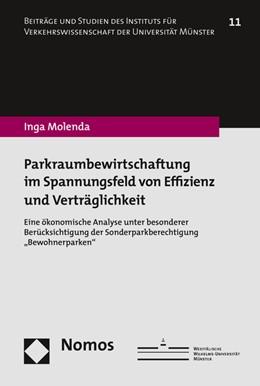 Abbildung von Molenda | Parkraumbewirtschaftung im Spannungsfeld von Effizienz und Verträglichkeit | 1. Auflage | 2016 | beck-shop.de