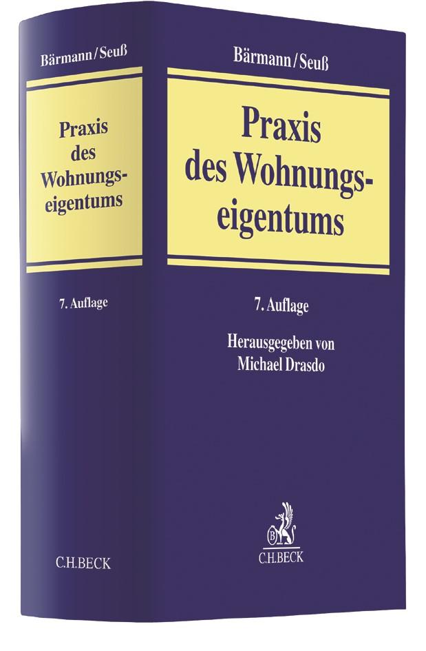 Praxis des Wohnungseigentums | Bärmann / Seuß | 7., überarbeitete und erweiterte Auflage, 2017 | Buch (Cover)