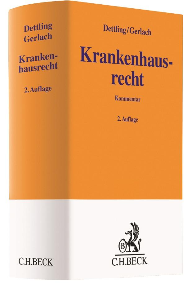 Krankenhausrecht   Dettling / Gerlach   Buch (Cover)