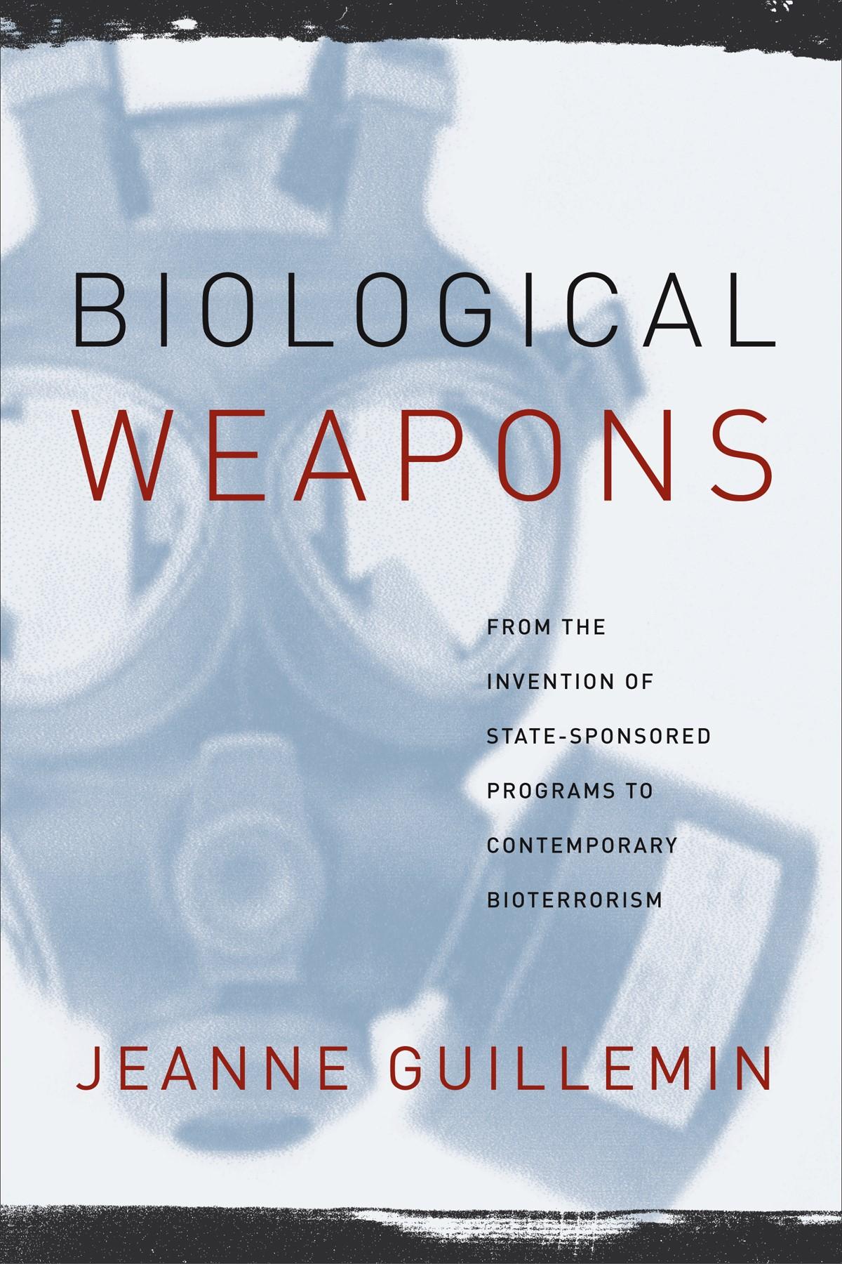 Abbildung von Guillemin   Biological Weapons   2004