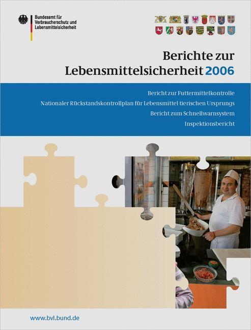 Berichte zur Lebensmittelsicherheit 2006   Brandt, 2007   Buch (Cover)