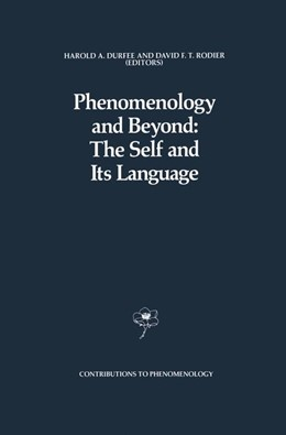 Abbildung von Durfee / Rodier | Phenomenology and Beyond: The Self and Its Language | 1989 | 3