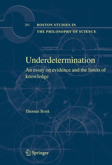 Underdetermination | Bonk | Softcover reprint of the original 1st ed. 2008, 2016 | Buch (Cover)