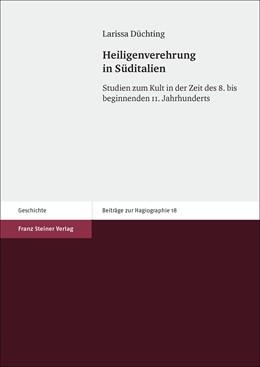 Abbildung von Düchting | Heiligenverehrung in Süditalien | 1. Auflage | 2016 | beck-shop.de