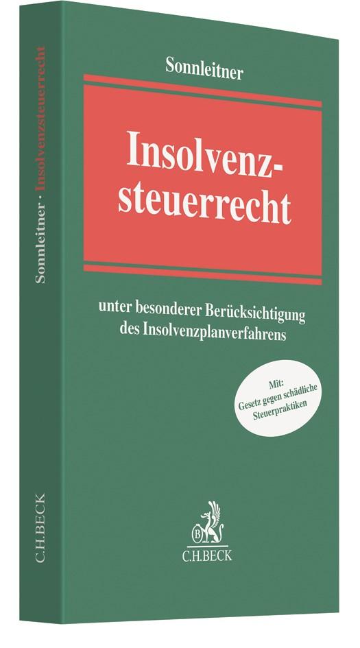 Insolvenzsteuerrecht | Sonnleitner, 2017 | Buch (Cover)