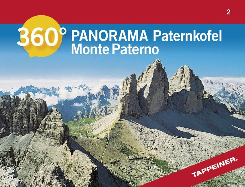 360° Panorama Paternkofel, 2015 (Cover)