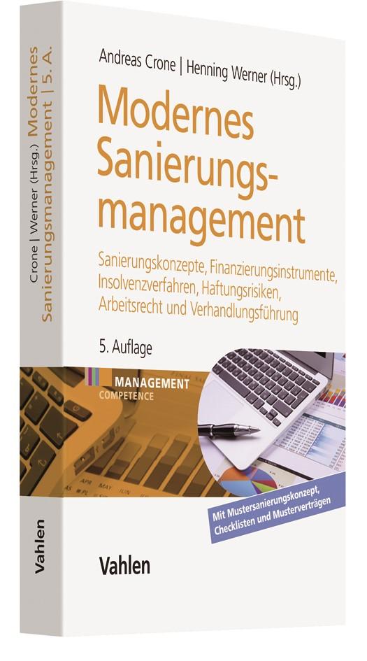 Modernes Sanierungsmanagement | Crone / Werner | 5., überarbeitete und erweiterte Auflage, 2017 | Buch (Cover)