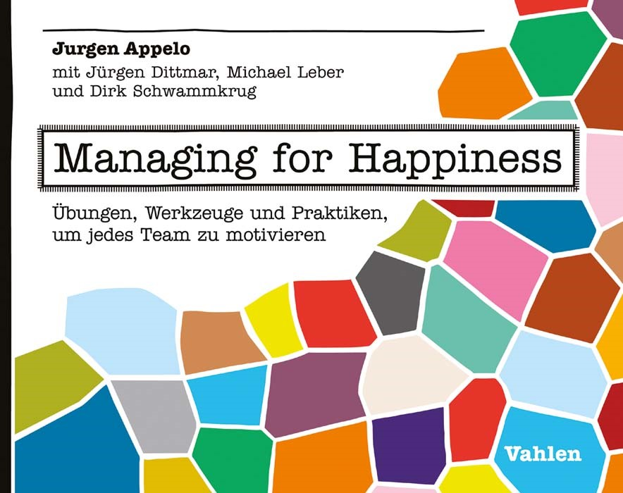 Managing for Happiness | Appelo, 2018 | Buch (Cover)