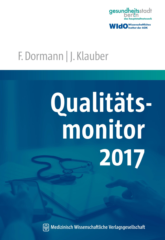 Abbildung von Dormann / Klauber (Hrsg.) | Qualitätsmonitor 2017 | 2016