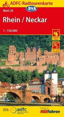 Abbildung von ADFC-Radtourenkarte 20 Rhein / Neckar 1 : 150 000   15. Auflage   2016