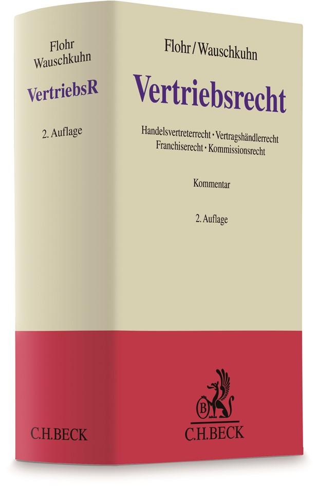 Vertriebsrecht | Flohr / Wauschkuhn | 2. Auflage, 2017 | Buch (Cover)