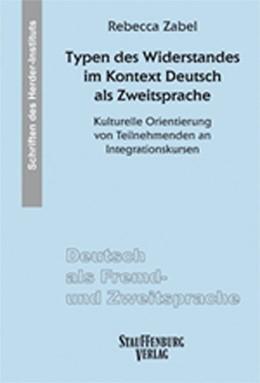 Abbildung von Zabel | Typen des Widerstandes im Kontext Deutsch als Zweitsprache | 2019 | Kulturelle Orientierung von Te...