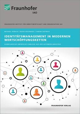 Abbildung von Kubach / Roßnagel | Identitätsmanagement in modernen Wertschöpfungsketten | 1. Auflage | 2016 | beck-shop.de