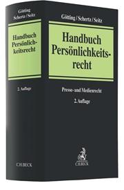Handbuch Persönlichkeitsrecht | Götting / Schertz / Seitz | 2. Auflage, 2018 | Buch (Cover)