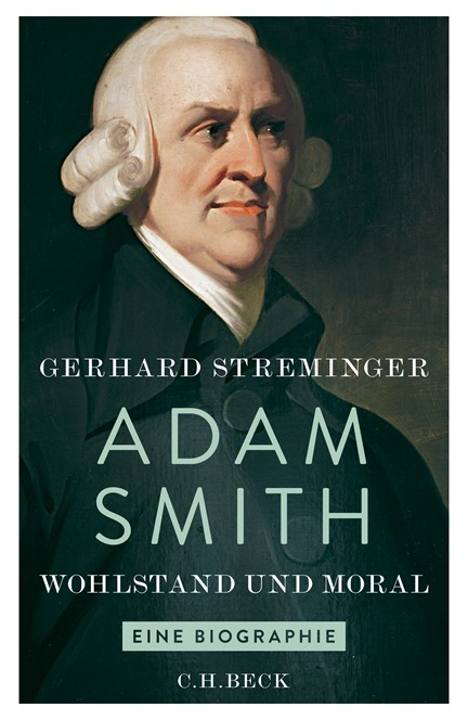 Cover: Gerhard Streminger, Adam Smith