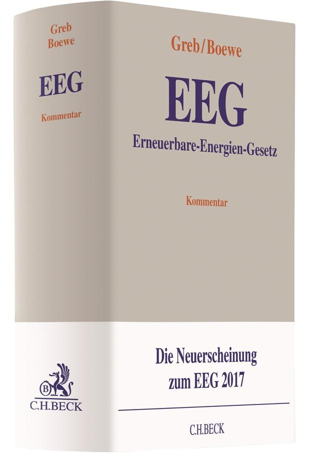 Erneuerbare-Energien-Gesetz: EEG | Greb / Boewe, 2018 | Buch (Cover)