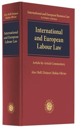 Abbildung von Ales / Bell   International and European Labour Law   1. Auflage   2018   beck-shop.de