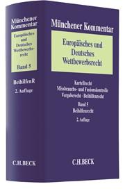 Münchener Kommentar Europäisches und Deutsches Wettbewerbsrecht, Band 5: Beihilfenrecht: BeihilfenR | 2. Auflage, 2018 | Buch (Cover)