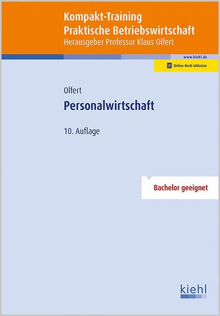Kompakt-Training Personalwirtschaft | Olfert | 10. Auflage, 2016 | Buch (Cover)