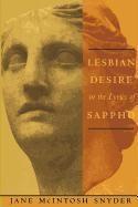 Abbildung von Snyder | Lesbian Desire in the Lyrics of Sappho | 1998