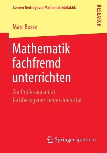 Mathematik fachfremd unterrichten | Bosse | 1. Aufl. 2017, 2016 | Buch (Cover)