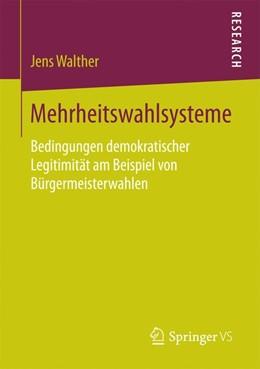 Abbildung von Walther | Mehrheitswahlsysteme | 1. Auflage | 2016 | beck-shop.de