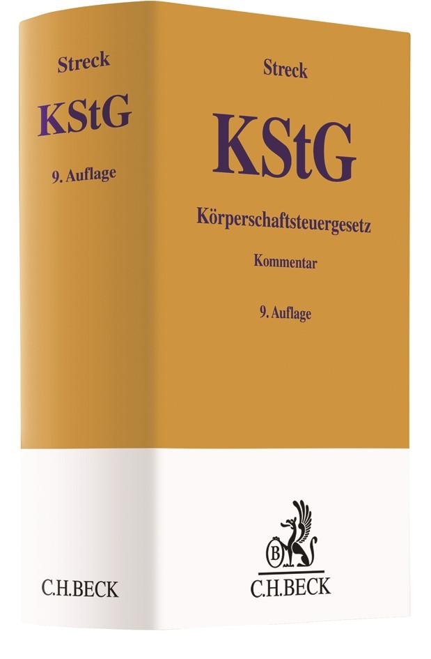 Körperschaftsteuergesetz: KStG | Streck | 9. Auflage, 2018 | Buch (Cover)