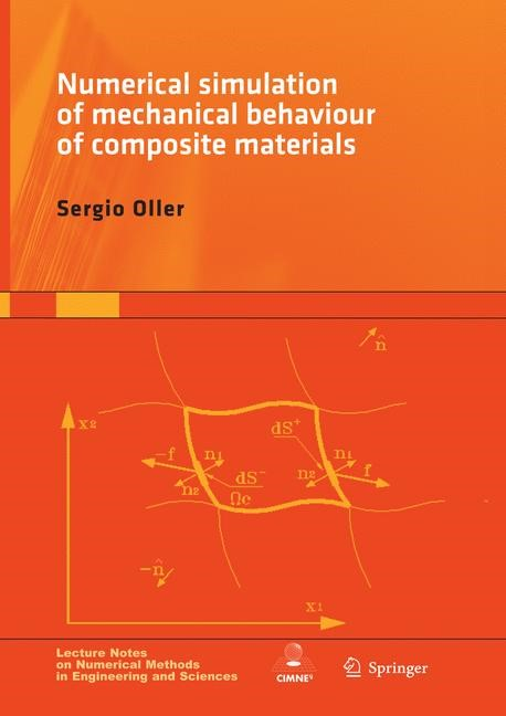 Abbildung von Oller | Numerical Simulation of Mechanical Behavior of Composite Materials | Softcover reprint of the original 1st ed. 2015 | 2016
