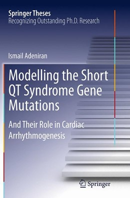 Abbildung von Adeniran | Modelling the Short QT Syndrome Gene Mutations | Softcover reprint of the original 1st ed. 2014 | 2016 | And Their Role in Cardiac Arrh...