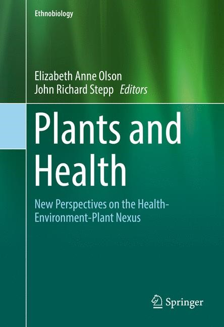Plants and Health | Olson / Stepp | 1st ed. 2016, 2017 | Buch (Cover)