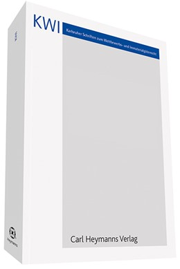 Abbildung von Papede | Verwertungsgesellschaften im europäischen Kontext (KWI 32) | 1. Auflage | 2016 | 32 | beck-shop.de