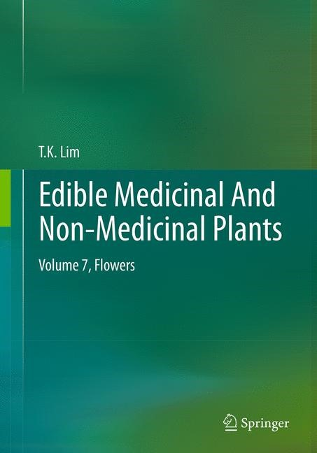 Edible Medicinal And Non-Medicinal Plants | Lim | Softcover reprint of the original 1st ed. 2014, 2016 | Buch (Cover)