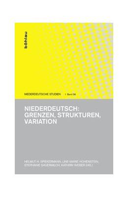 Abbildung von Hohenstein | Niederdeutsch: Grenzen, Strukturen, Variation | 2016 | 58