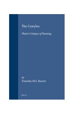 Abbildung von Baxter | The Cratylus. | 1992 | Plato's Critique of Naming | 58