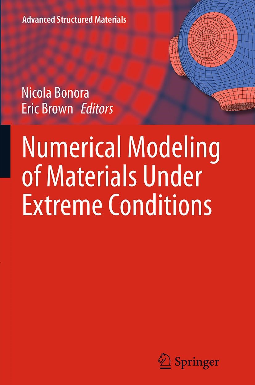 Numerical Modeling of Materials Under Extreme Conditions | Bonora / Brown | Softcover reprint of the original 1st ed. 2014, 2016 | Buch (Cover)