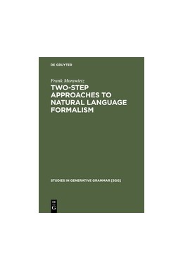 Abbildung von Morawietz | Two-Step Approaches to Natural Language Formalism | Reprint 2013 | 2003 | 64