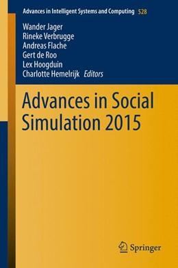 Abbildung von Jager / Verbrugge | Advances in Social Simulation 2015 | 1. Auflage | 2017 | 528 | beck-shop.de