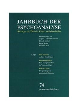 Abbildung von Ebrecht-Laermann / Löchel | Jahrbuch der Psychoanalyse / Band 74: Lüge | 1. Auflage | 2017 | beck-shop.de