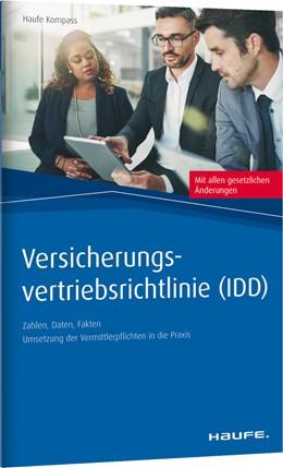 Abbildung von Versicherungs-Vertriebsrichtlinie (IDD) | 1. Auflage | 2018 | beck-shop.de