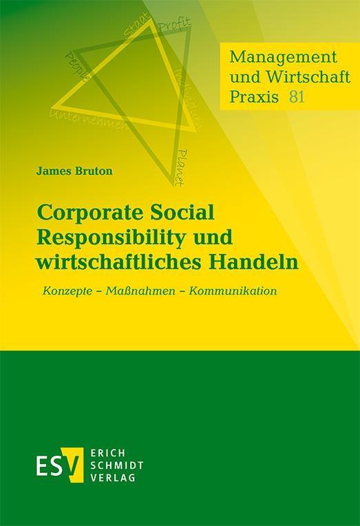 Corporate Social Responsibility und wirtschaftliches Handeln | Bruton, 2016 (Cover)